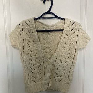 Knit American Eagle short sleeve button up